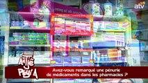 ATPA 22 09 15 PENURIE MEDICAMENTS PHARMACIE GUY RICHARD