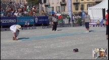 Demi-finale et finale du tir de précision Europétanque Département des Alpes-Maritimes à Nice