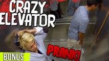 CRAZY ELEVATOR PRANK - BONUS