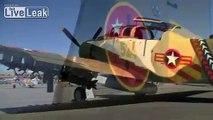 Douglas A1-E Skyraider Cockpit Video (1952 Camo Paint Scheme)