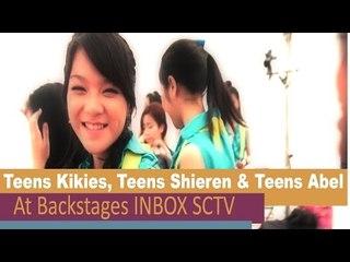 Teens Kikies Shieren n Abel @BackStage INBOX SCTV