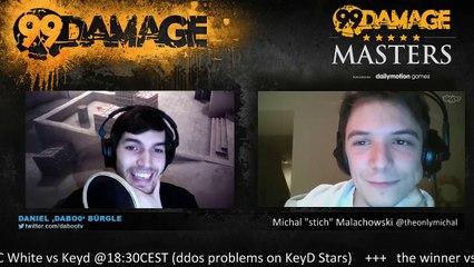 dabo0 - 99Damage Masters 20.000$: LDLC-White vs Keyd Stars + the winner vs Fraternitas ~@20:30CEST (REPLAY) (2015-09-18 19:30:16 - 2015-09-18 23:37:32)
