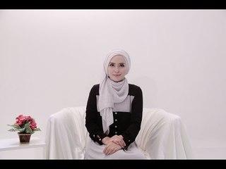 "Hijab Tutorial 64 ""Plisket Shawl"" by Zahratul Jannah"