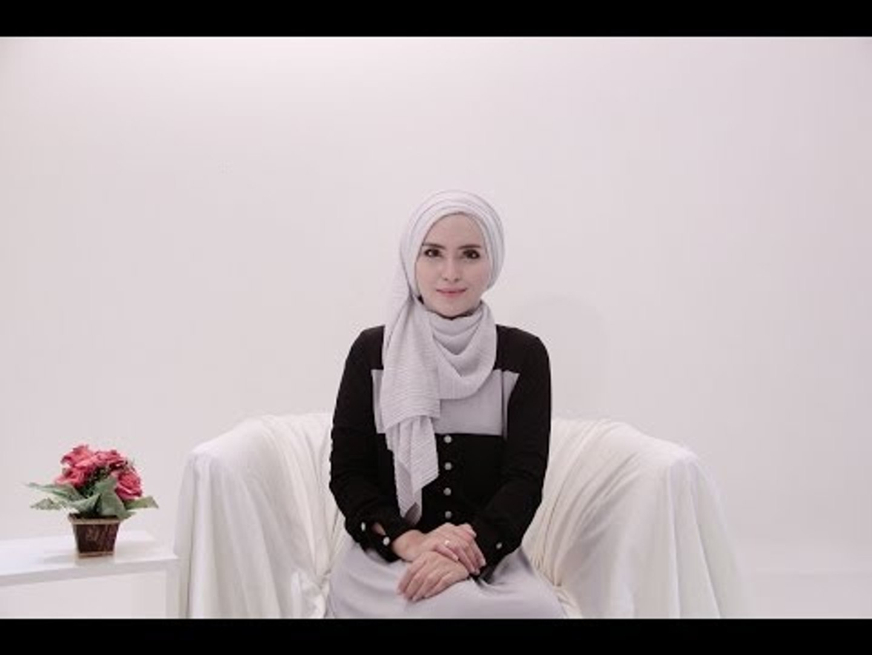 Hijab Tutorial 64 Plisket Shawl By Zahratul Jannah Video Dailymotion