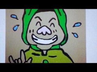 Kompilasi Gambar Kartun Ibu Risma, Walikota Surabaya - Berani Menggambar