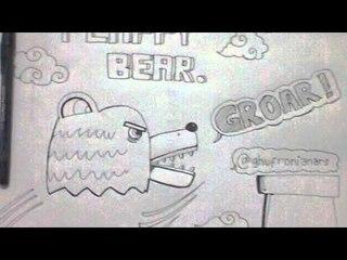 Kompilasi Gambar Beruang Marah