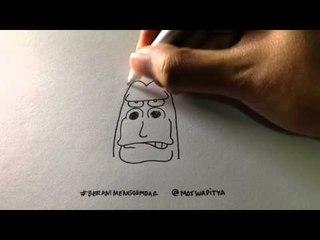 Yuk Belajar Menggambar Bersama Mas Waditya! Let's Learn to Draw!