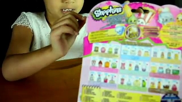 Shopkins Review by Shirai- See which Shopkins she she gets