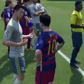 Cristiano Ronaldo and Messi discussing the new fifa 16 - Funny Videos - Real Madrid vs Barcelona