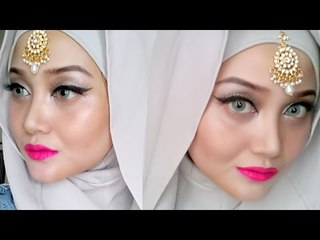 Eid Inspiration - Dramatic Eyeliner & Vibrant Lips | Make Up Indonesia
