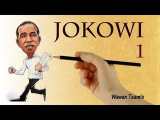 JOKOWI ala  wawan teamlo 1 (wawan menggambar)