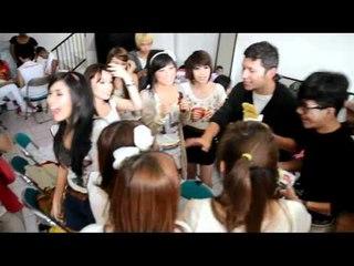 Cherrybelle | SM*SH dan dadah ala ChiBi Backstage Inbox SCTV 10 Juli 2011