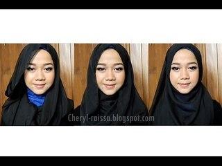 Everyday Hijab Tutorial (Long Scarf)   Cheryl Raissa