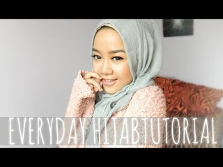 Simple Everyday Hijab Tutorial (Spesial Ramadhan    Beauty Tutorial How to