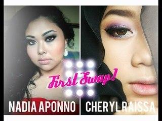My First SWAP WITH Nadia Aponno ♥♥♥   Cheryl Raissa