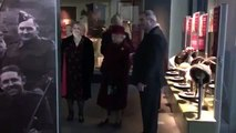 The Queen Gets A Scouse Send-Off Outside The Museum Of Liverpool