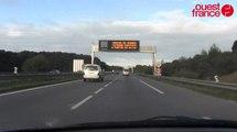 A partir du 1er octobre, la vitesse baisse de 20 km/h sur la rocade de Rennes