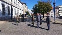 Cerimônia solene de encerramento da comemoração dos 70 anos da passagem da FEB - Força Expedicionária Brasileira por Portugal, promovida por Artur Victoria,