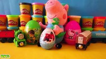 Surprise Eggs Spiderman Hello Kitty Ben 10 Peppa Pig Thomas And Friends Toys | Best Kid Games