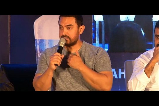 Aamir Khan shares a funny Joke