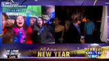 "LIVE TV = Drunk Women Celebrate New Years Eve on Fox News: ""We're Gonna F%ck Sh*t Up!"""