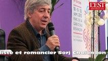 Public nombreux et enthousiaste pour Sorj Chalandon aux Mots Doubs à Besançon
