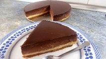 Postres: TARTA TRES CHOCOLATES - recetas de cocina faciles rapidas y economicas de hacer en casa