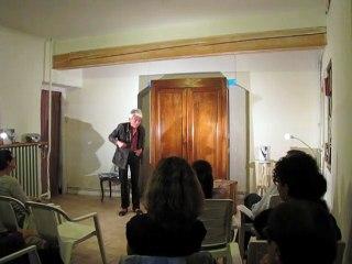 Et l'Humain, alors… extraits de textes de Fernand Deligny, joués, mis en scène et arrangés par  Bernard Meulien