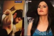 Zarine Khan looking BEAUTIFUL in blue dress at premiere of the movie DAVID
