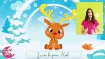 Comptinette du renne de Noël - comptine à gestes