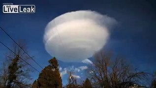 Lenticular Clouds Time Lapse