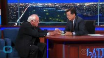 Bernie Sanders on Colbert: Socialism, Super Pacs and Why 'liberal' is no Insult