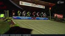 REPLAY MAIN FINALS ROUND 8 BMX EUROPEAN CUP UEC ECHICHENS, SWITZERLAND - 19 SEPTEMBER 2015