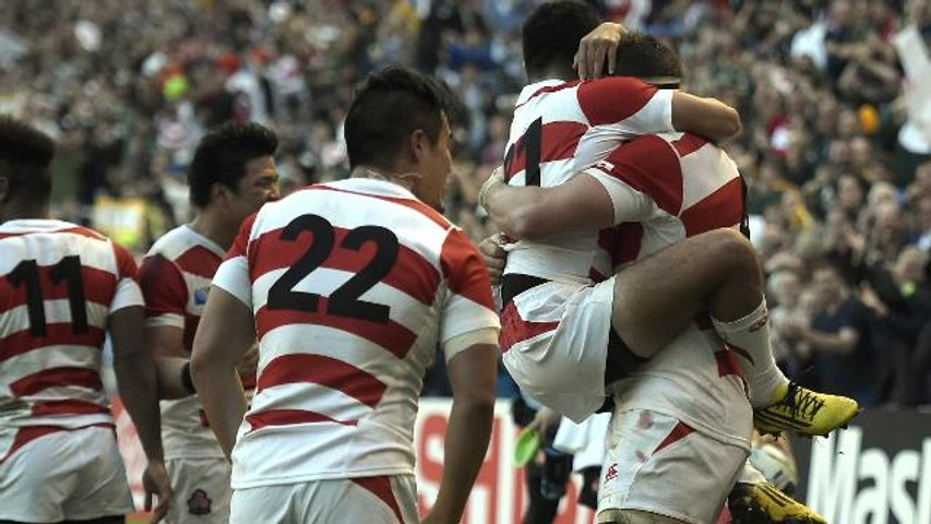 Match Highlights: Japan shock South Africa