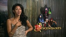 Sofia Carson and Booboo Stewart talk Disney's Descendants