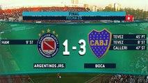 Argentinos Juniors 1 Boca Juniors 3 (Campeonato 2015)