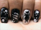 Cat Detective! - Cute Nail Art For Beginners | SuperWowStyle