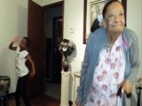 Amazing Old Woman Dance Moves Of Granny