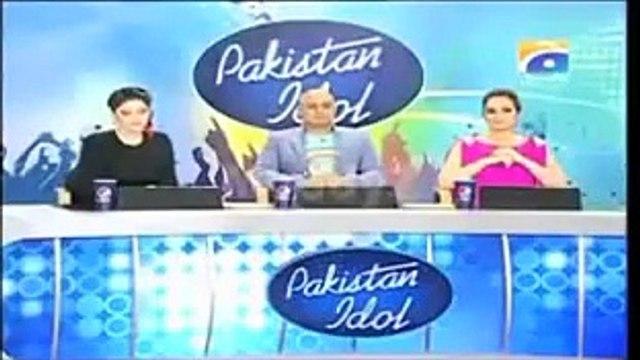 Shocking Videos: A Big Slap On Pakistan Idol Judges See By Maria Meer Singing