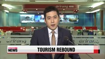 Number of Chinese visitors to Korea rebounds to pre-MERS levels: KTO