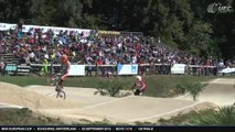 REPLAY 1/8 FINALS SUNDAY BMX EUROPEAN CUP ECHICHENS, SWITZERLAND - 20 SEPTEMBER 2015