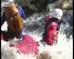 Extreme White Water Rafting With Russians