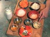 Recette indienne : carottes à la noix de coco