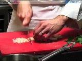 Recette de foie gras poêlé en croûte de pistache
