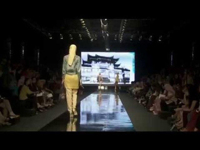 "Fashion Show ""The Mesmerizing Orientalism"" by SHAFIRA-PART 1 | Beauty Hijab Tutorial"