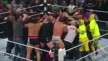 The Undertaker and Brock Lesnar brawl before SummerSlam 2015
