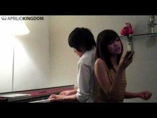 Kevin Aprilio & Danita - Rainy love (Rainie Yang cover)