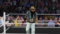 WWE 2K15 bray wyatt v the punisher
