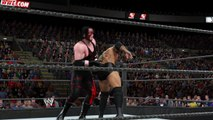 WWE 2K15 batista v kane