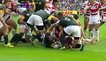 Rugby World Cup 2015   Match Highlights - Japan shock South Africa - Watch All Highlights HERE